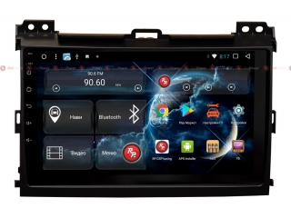 Штатная магнитола Redpower 31182 R IPS DSP для Toyota LC Prado 120 на Android 7