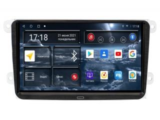 Штатная магнитола Redpower 71004 для Volkswagen, Skoda, Seat Универсальная 9 Дюймов с DSP процессором, 4G модемом и CarPlay на Android 10