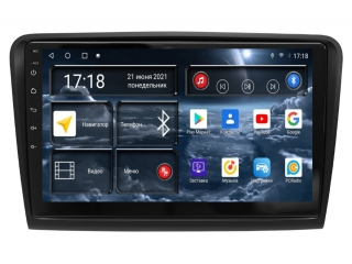 Штатная магнитола Redpower 71016 для Skoda Superb 2008-2013 с DSP процессором, 4G модемом и CarPlay на Android 10