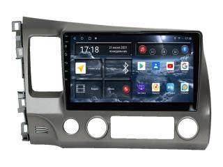 Штатная магнитола Redpower 71024 для Honda Civic 2006-2012 с DSP процессором, 4G модемом и CarPlay на Android 10