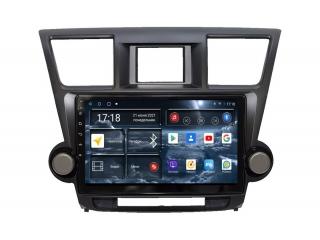 Штатная магнитола Redpower 71035 для Toyota Highlander II U40 2007-2013 с DSP процессором, 4G модемом и CarPlay на Android 10