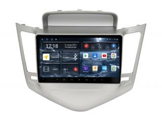 Штатная магнитола Redpower 71045S для Chevrolet Cruze 2009-2012 Silver с DSP процессором, 4G модемом и CarPlay на Android 10