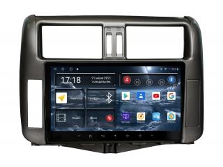 Штатная магнитола Redpower 71065 для Toyota Land Cruiser Prado 150 2010-2013 с DSP процессором, 4G модемом и CarPlay на Android 10
