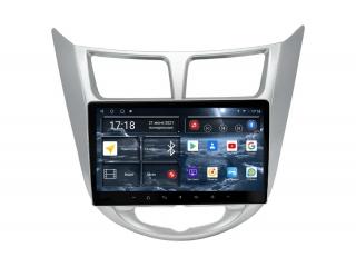 Штатная магнитола Redpower 71067 для Hyundai Solaris до 2017 с DSP процессором, 4G модемом и CarPlay на Android 10
