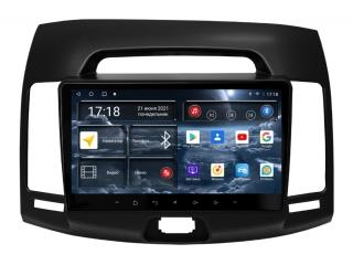 Штатная магнитола Redpower 71092B для Hyundai Elantra 2006-2010 черная с DSP процессором, 4G модемом и CarPlay на Android 10
