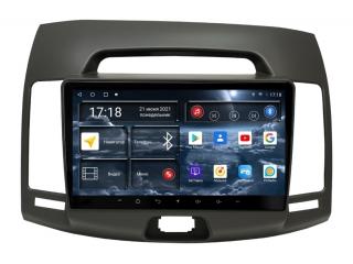 Штатная магнитола Redpower 71092G для Hyundai Elantra 2006-2010 серая с DSP процессором, 4G модемом и CarPlay на Android 10