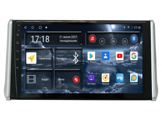 Штатная магнитола Redpower 71117 для Toyota RAV4 2019+ с DSP процессором, 4G модемом и CarPlay на Android 10