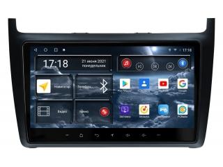 Штатная магнитола Redpower 71134 для Volkswagen Polo 2009-2019 с DSP процессором, 4G модемом и CarPlay на Android 10