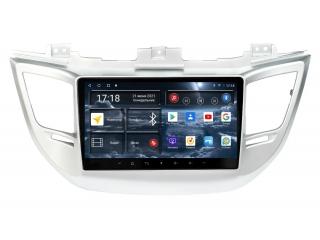 Штатная магнитола Redpower 71147 для Hyundai Tucson 2015-2017 с DSP процессором, 4G модемом и CarPlay на Android 10