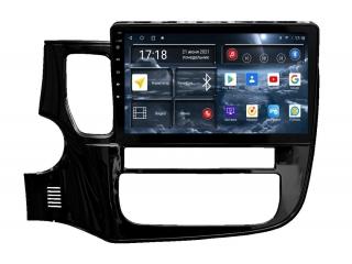 Штатная магнитола Redpower 71156 для Mitsubishi Outlander 2012+ с DSP процессором, 4G модемом и CarPlay на Android 10
