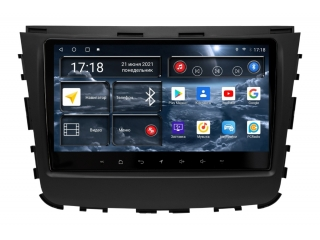 Штатная магнитола Redpower 71159 для Ssang Yong Rexton 2018-2020 с DSP процессором, 4G модемом и CarPlay на Android 10
