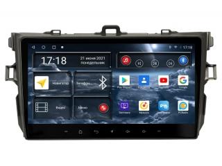 Штатная магнитола Redpower 71163 для Toyota Corolla 2007-2012 с DSP процессором, 4G модемом и CarPlay на Android 10