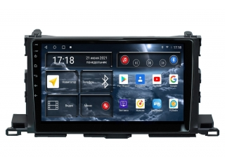 Штатная магнитола Redpower 71184 для Toyota Highlander 2014+ с DSP процессором, 4G модемом и CarPlay на Android 10