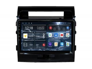 Штатная магнитола Redpower 71200G для Toyota Land Cruiser 200 2007-2014 глянец с DSP процессором, 4G модемом и CarPlay на Android 10