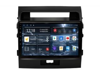 Штатная магнитола Redpower 71200M для Toyota Land Cruiser 200 2007-2014 матовая с DSP процессором, 4G модемом и CarPlay на Android 10