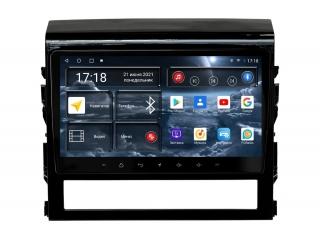 Штатная магнитола Redpower 71201 для Toyota Land Cruiser 200 2014+ с DSP процессором, 4G модемом и CarPlay на Android 10