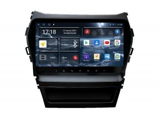 Штатная магнитола Redpower 71210 для Hyundai Santa Fe 2012-2018 с DSP процессором, 4G модемом и CarPlay на Android 10