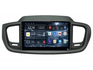 Штатная магнитола Redpower 71242 для Kia Sorento Prime с DSP процессором, 4G модемом и CarPlay на Android 10