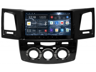 Штатная магнитола Redpower 71269 для Toyota Fortuner, Hilux 2005-2015 кондиционер с DSP процессором, 4G модемом и CarPlay на Android 10
