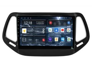 Штатная магнитола Redpower 71315 для Jeep Compass 2017+ с DSP процессором, 4G модемом и CarPlay на Android 10
