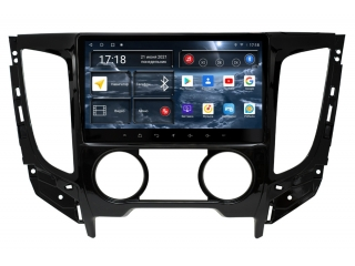 Штатная магнитола Redpower 71425 для Mitsubishi 2015-2019, L200, Fiat Fullbac кондиционер с DSP процессором, 4G модемом и CarPlay на Android 10