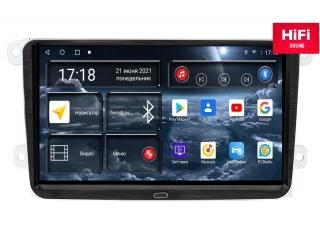 Штатная магнитола Redpower 75004 для Volkswagen, Skoda, Seat Универсальная 9 Дюймов с DSP процессором, 4G модемом и CarPlay на Android 10