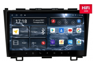 Штатная магнитола Redpower 75009 для Honda CR-V 2007-2012 с DSP процессором, 4G модемом и CarPlay на Android 10
