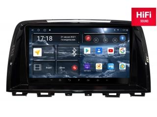Штатная магнитола Redpower 75012 для Mazda 6 2012-2014 с DSP процессором, 4G модемом и CarPlay на Android 10