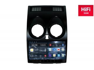 Штатная магнитола Redpower 75030 для Nissan Qashqai 2006-2013 без индикации ремней с DSP процессором, 4G модемом и CarPlay на Android 10