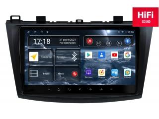 Штатная магнитола Redpower 75034 для Mazda 3 2009-2013 с DSP процессором, 4G модемом и CarPlay на Android 10