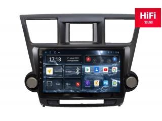 Штатная магнитола Redpower 75035 для Toyota Highlander II U40 2007-2013 с DSP процессором, 4G модемом и CarPlay на Android 10