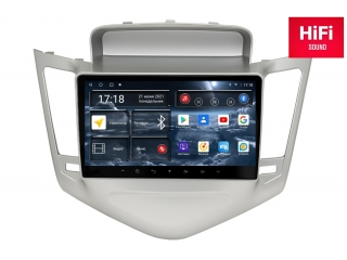 Штатная магнитола Redpower 75045S для Chevrolet Cruze 2009-2012 Silver с DSP процессором, 4G модемом и CarPlay на Android 10