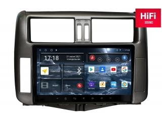 Штатная магнитола Redpower 75065 для Toyota Land Cruiser Prado 150 2010-2013 с DSP процессором, 4G модемом и CarPlay на Android 10