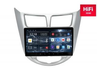 Штатная магнитола Redpower 75067 для Hyundai Solaris до 2017 с DSP процессором, 4G модемом и CarPlay на Android 10
