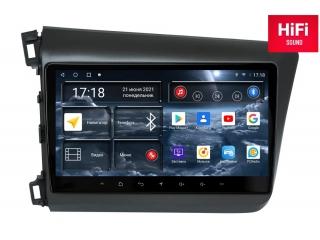 Штатная магнитола Redpower 75132 для Honda Civic седан 2011-2015 с DSP процессором, 4G модемом и CarPlay на Android 10