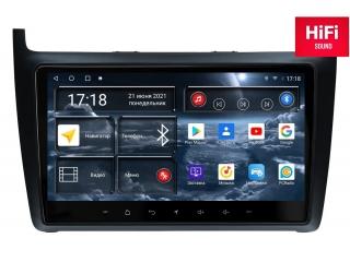 Штатная магнитола Redpower 75134 для Volkswagen Polo 2009-2019 с DSP процессором, 4G модемом и CarPlay на Android 10