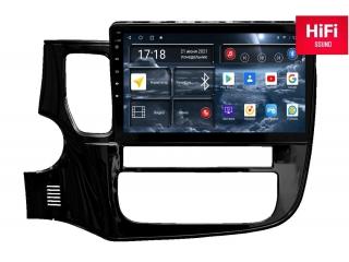 Штатная магнитола Redpower 75156 для Mitsubishi Outlander 2012+ с DSP процессором, 4G модемом и CarPlay на Android 10