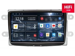 Штатная магнитола Redpower 75157 для Renault Duster, Kaptur 2016+, Logan 2014+, Sandero 2014+, Lada Xray 2016+ с DSP процессором, 4G модемом и CarPlay на Android 10