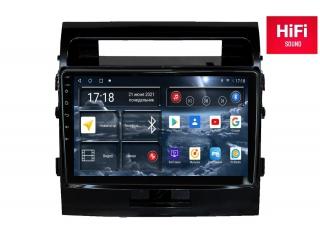 Штатная магнитола Redpower 75200G для Toyota Land Cruiser 200 2007-2014 глянец с DSP процессором, 4G модемом и CarPlay на Android 10