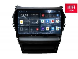Штатная магнитола Redpower 75210 для Hyundai Santa Fe 2012-2018 с DSP процессором, 4G модемом и CarPlay на Android 10