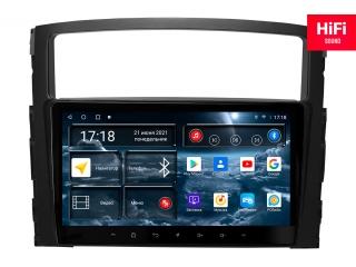 Штатная магнитола Redpower 75223 для Mitsubishi Pajero 4 2006+ с DSP процессором, 4G модемом и CarPlay на Android 10