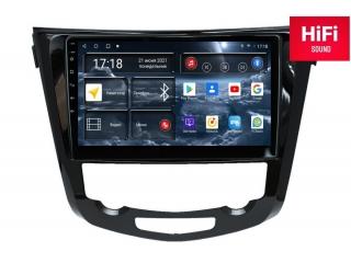 Штатная магнитола Redpower 75301 для Nissan X-Trail, Qashqai 2014+ С КЛИМАТОМ с DSP процессором, 4G модемом и CarPlay на Android 10