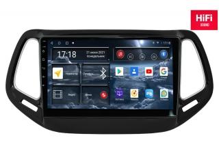 Штатная магнитола Redpower 75315 для Jeep Compass 2017+ с DSP процессором, 4G модемом и CarPlay на Android 10