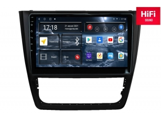 Штатная магнитола Redpower 75404 для Skoda Yeti 2009-2017 комплектация с кондиционером с DSP процессором, 4G модемом и CarPlay на Android 10