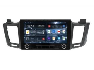 Штатная магнитола Redpower 71017 KNOB для Toyota RAV4 2013-2019 с DSP процессором, 4G модемом и CarPlay на Android 10
