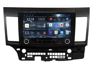 Штатная магнитола Redpower 71037 KNOB для Mitsubishi Lancer X 2007-2012 с DSP процессором, 4G модемом и CarPlay на Android 10