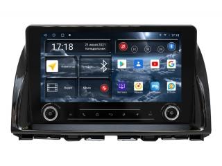 Штатная магнитола Redpower 71112 KNOB для Mazda CX-5 2011-2017 с DSP процессором, 4G модемом и CarPlay на Android 10
