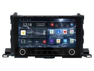 Штатная магнитола Redpower 71184 KNOB для Toyota Highlander 2014+ с DSP процессором, 4G модемом и CarPlay на Android 10