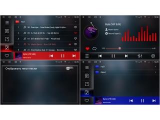 Штатная магнитола Redpower 71300 KNOB для Nissan Teana 2008-2013 с монохромным дисплеем с DSP процессором, 4G модемом и CarPlay на Android 10
