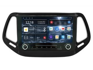 Штатная магнитола Redpower 71315 KNOB для Jeep Compass 2017+ с DSP процессором, 4G модемом и CarPlay на Android 10